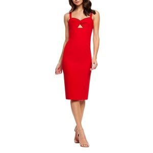 Dress The Population Eve Red Dress NWT